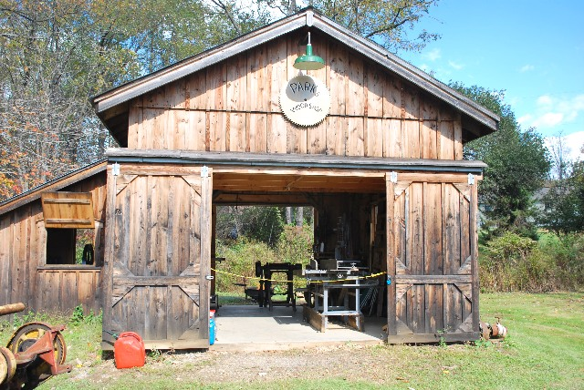 """The Parks Wood Shop """"open for business."""""""